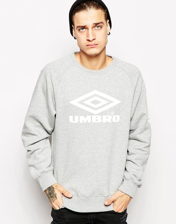 Buy NOW  Umbro Logo Sweatshirt - Greymarl - http://www.fashionshop.net.au/shop/asos/umbro-logo-sweatshirt-greymarl/ #ClothingAccessories, #Greymarl, #Logo, #Male, #Mens, #MensSweatshirtsAndHoodies, #Sweatshirt, #Umbro #fashion #fashionshop