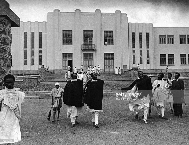Parliament House in Addis Ababa in January 1935 G.C  Getty Images Ethiopia Stock Photos: www.gettyimages.com