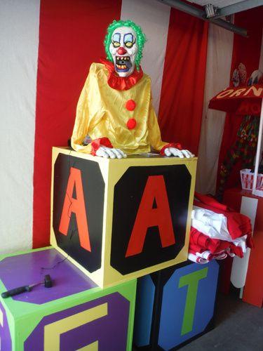 1088 Best Clown Carnevil Haunt Ideas Images On Pinterest