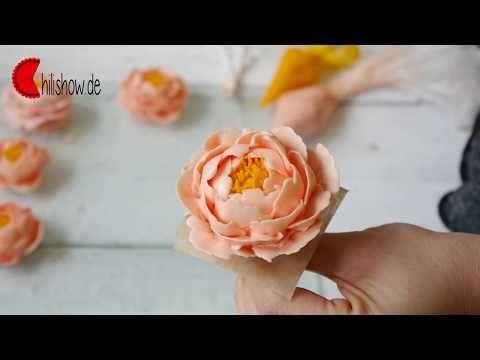 peony buttercream tutorial   YouTube | Cake & Cookies | Pinterest