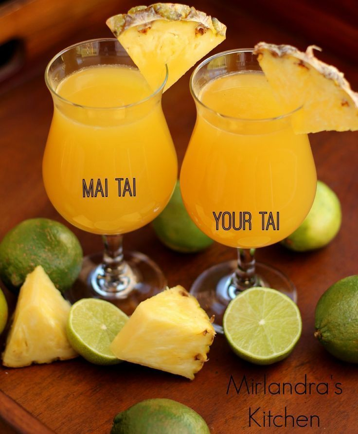 We made some really great Mai Tais recently.  With the cold temperatures rolling in this is the perfect time of year to kick up your heels and have a summer drink.  I ended up working out two versions of this classic - a crazy, stiff one and one that is a