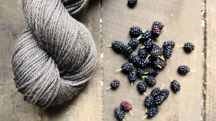 Dyeing with Mulberries - Liesl Made