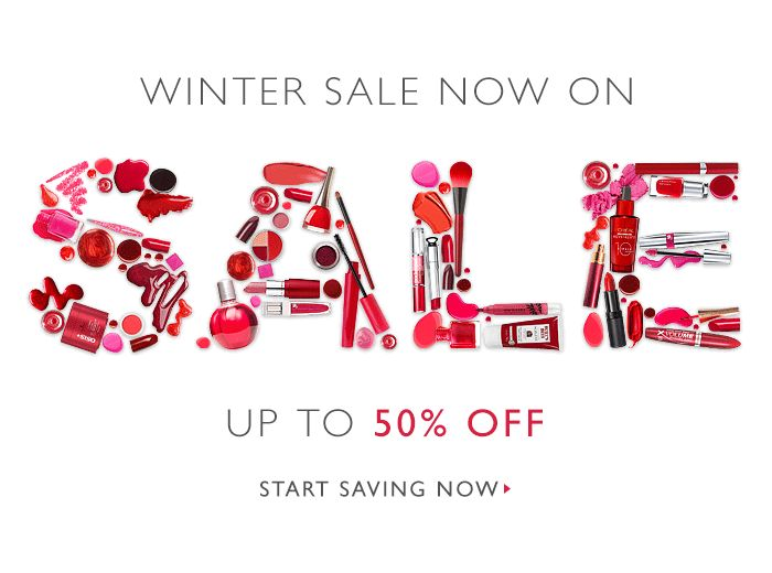 Some #beauty sale gif in #email
