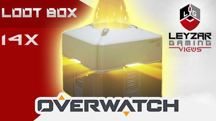 Overwatch - Opening 14x Loot Box (My Legendary Luck Strikes Again!)