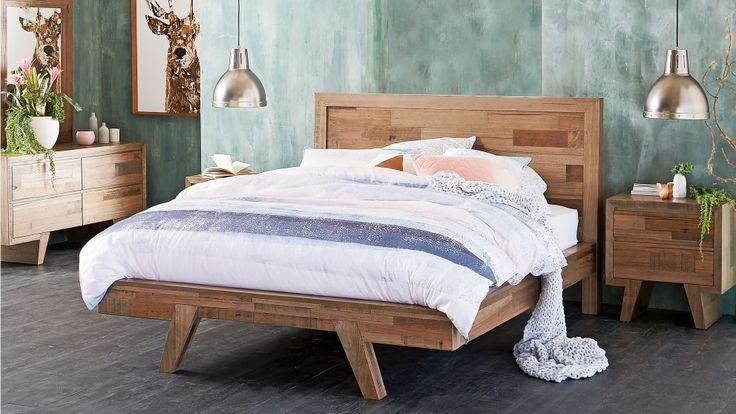 Adamson Queen Bed Beds Suites Bedroom Beds Manchester Harvey Norman Australia Home
