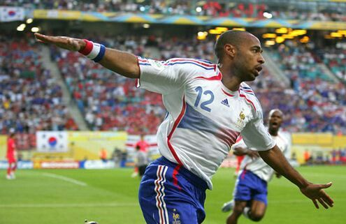 Thierry Henry. France.