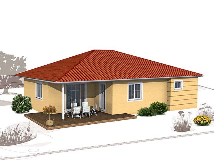 GENO Livingstar 2 Winkelbungalow Bungalow grundriss 120