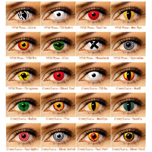 Pictures Of People With Color Contact Lenses