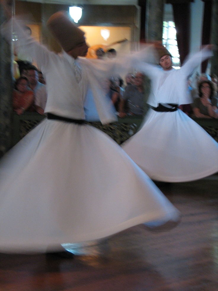 Sufi dancing is joyful and connecting