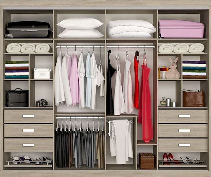 120 Brilliant Wardrobe Ideas For First Apartment Bedroom Decor