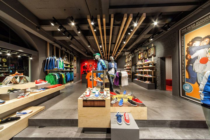 Sports Store | Retail Design | Shop Interior | Sports Display | Puma store by Plajer & Franz Studio, Amsterdam