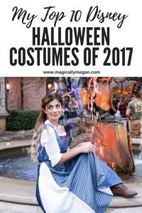 Disney Halloween costumes, make Halloween more fun! Check out my top 10 costumes picks of the 2017 Halloween Season.