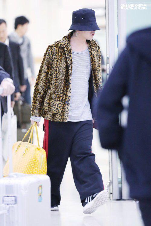 G Dragon Airport Fashion Â�ヨン
