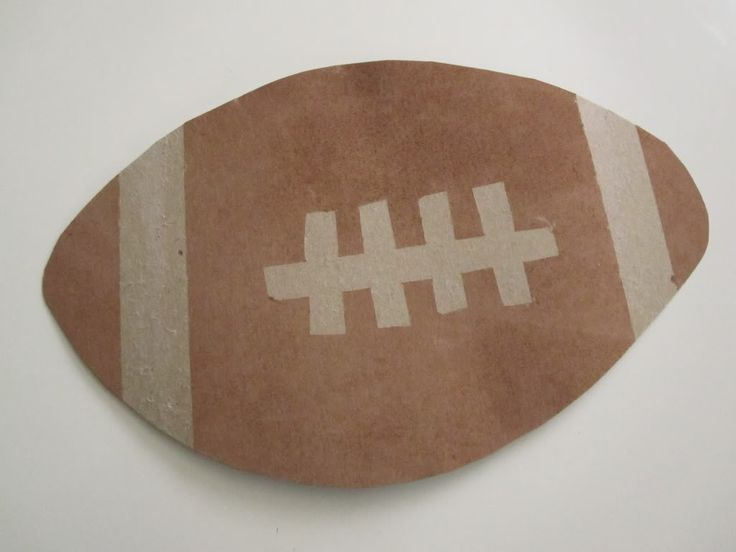 25 best ideas about sport craft on pinterest sport for Football crafts for preschoolers