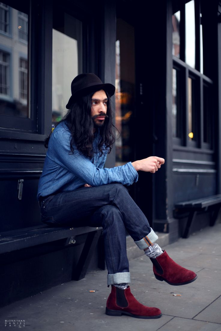 Macks in Shoreditch #mens #streetstyle