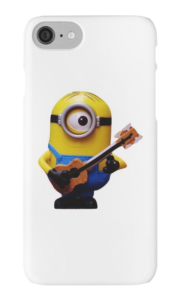 Minion With a Guitar  by MyInkTees