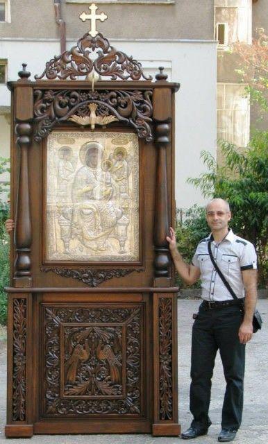 Проскинарий, Николай Николов/ Nikolai Nikolov bulgarian wood carving artist