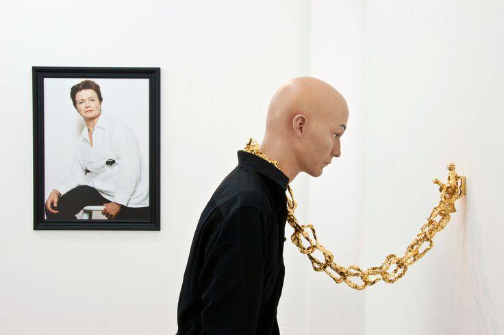 Installation view, Benjamin Lignel, Elene Usdin, How do you like me now ?, NextLevel Galerie, 2013, Photo: F. Kleinefenn