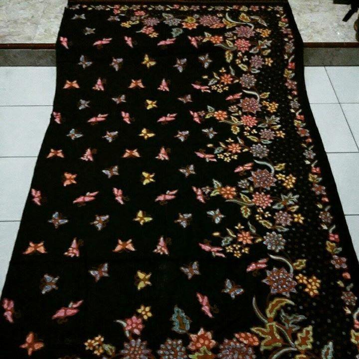 Batik Encim  Butterfly motif