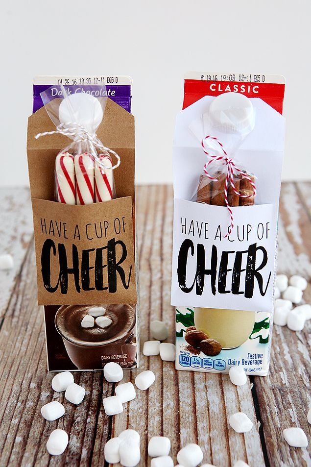 Have A Cup Of Cheer Gift Idea. Great idea for Christmas gifts for neighbors and…