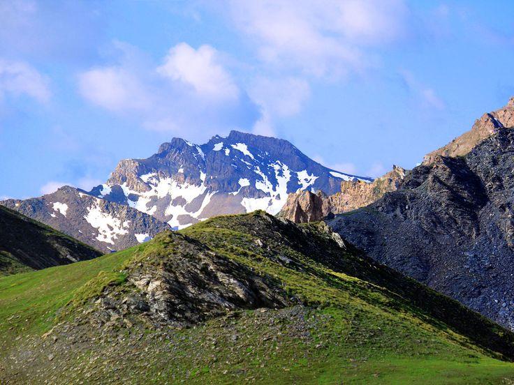 Randonnée au col Vieux, dans le Queyras, Hautes-Alpes.