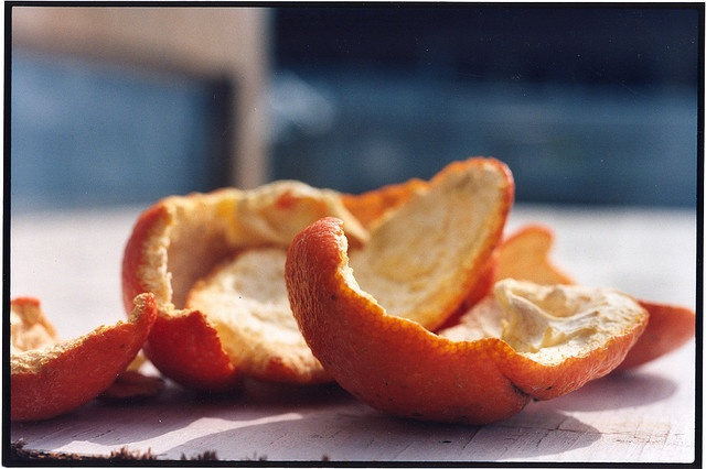 "Bill Basquin ""Cara Cara Orange Peel #2"" by Recology San Francisco, Art at the Dump, via Flickr"