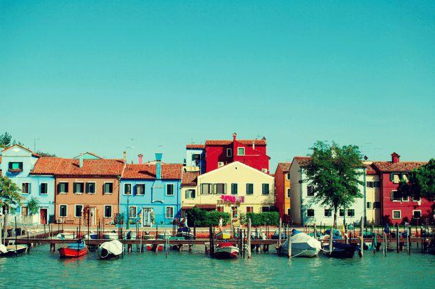 イタリア ブルーノ島