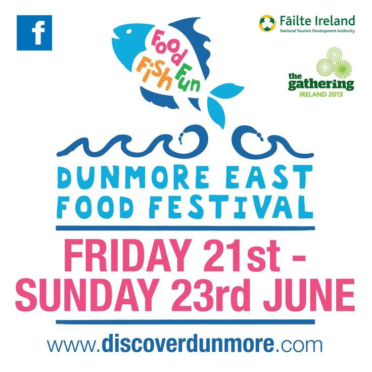 2ft x 2ft Corriboard for Dunmore East Food Festival 2013