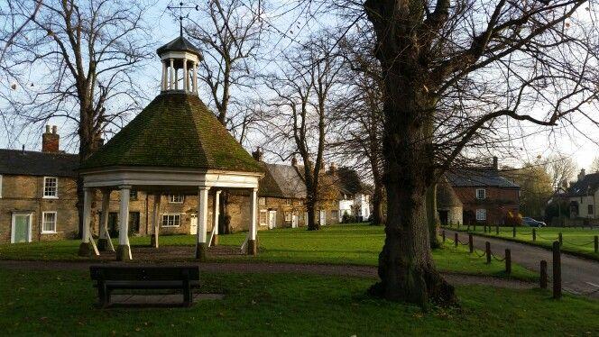 Harrold town centre