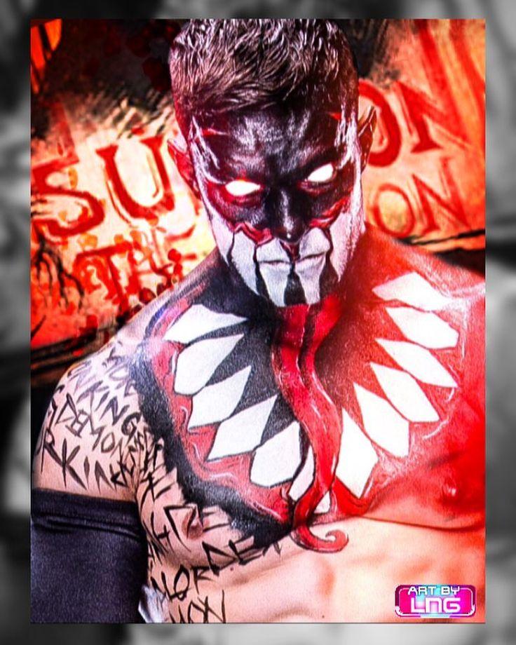 "LNG GFX ART est. 2017 en Instagram: ""Summon The Demon   Finn Balor Graphic Poster   #wwe #finnbalor #wrestling #wweuniverse #f4f #graphic #thedemonking"""