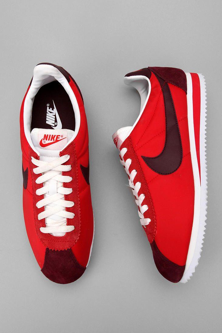 Nike Classic Cortez Nylon Sneaker. Like an O.G.!: Nike Classic, Air Jordans, Discount Nike, Shoes Collection, Nike Free Running, Nike Cortez, Cortez Sneakers, Classic Cortez, Nike Air Max