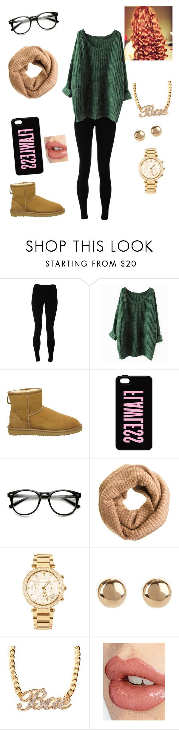 """chill"" by lil-baby-d ❤ liked on Polyvore featuring Solow, UGG Australia, J.Crew, Michael Kors, Jules Smith and Charlotte Tilbury"