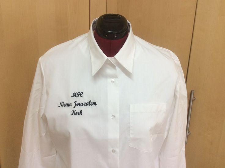 Overhemden voor het MFC Nieuw Jeruzalem Kerk in Emmeloord.
