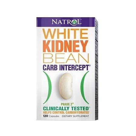 Natrol Carb Intercept mit Phase 2 White Kidney Bean Extract Nahrungsergänzungsmittel