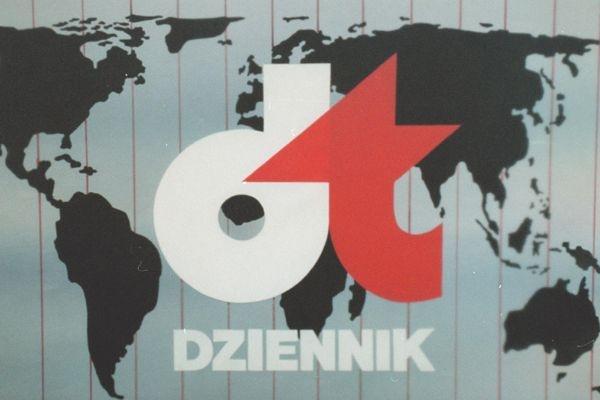 """""""Dziennik Telewizyjny"""", jeden ze sztandarowych programów lat 80-tych (fot. TVP)"""