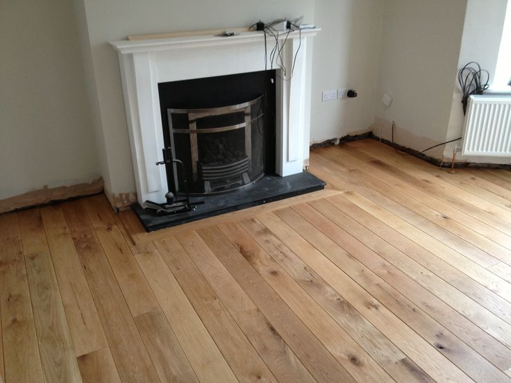 Rustic Solid Oak Flooring Fitted Pre Finished By Heritage 7 American