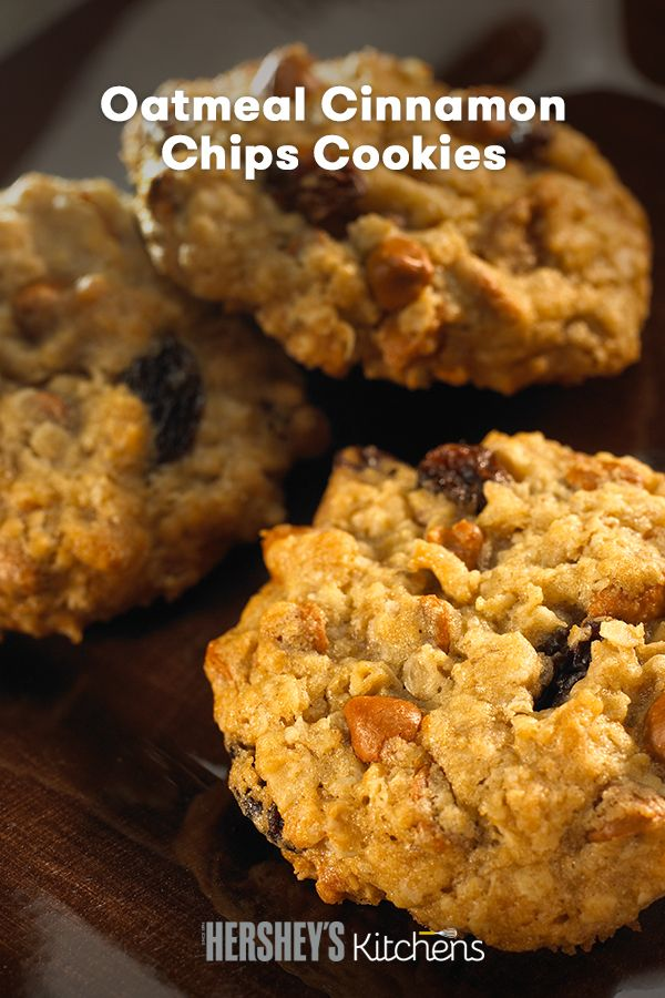 Hershey chocolate oatmeal cookies recipe