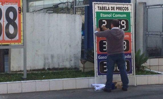 Governo subiu impostos: Postos de SP começam a aumentar combustíveis