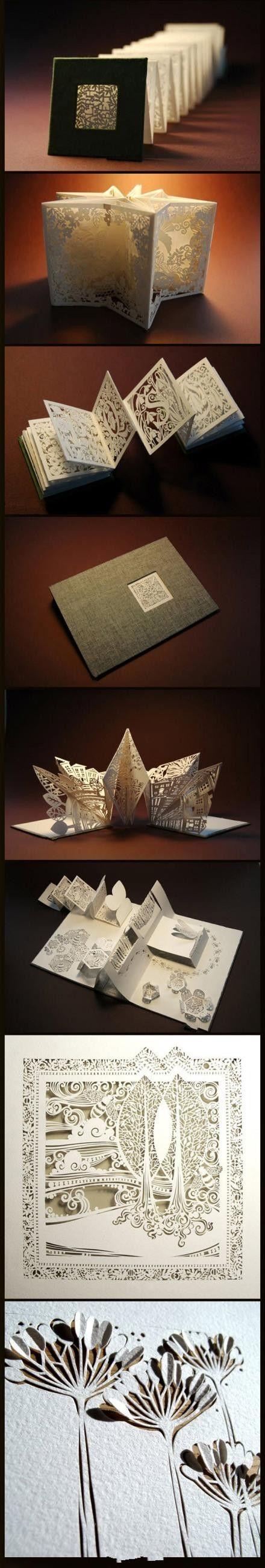 8 delicate paper carvings