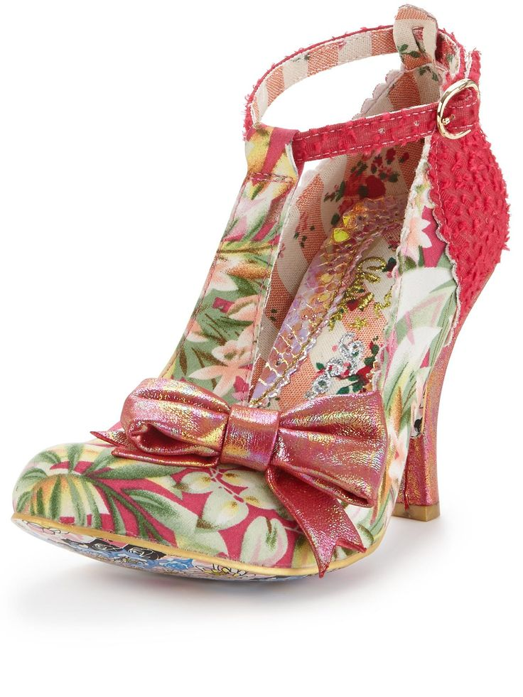 Irregular Choice Bloxy T-bar Court Shoes | very.co.uk