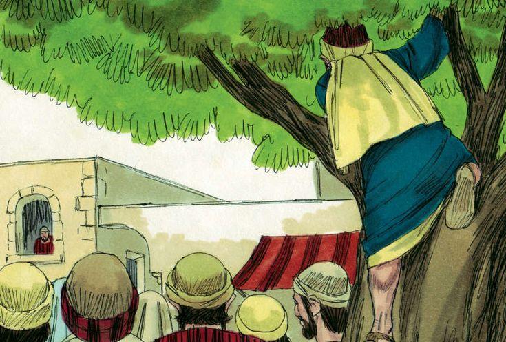 A Study of Luke:  Luke 19:1-10 (NASB) Zaccheus-in-tree Skit