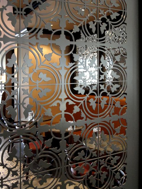 More of Grace & Webb's latest laser cut installations - Grace & Webb - Bespoke laser cut screens and panels for luxury architectural and interior projects