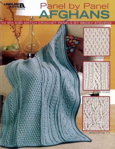 Maggie's Crochet · Panel by Panel Afghans #crochet #pattern #afghan