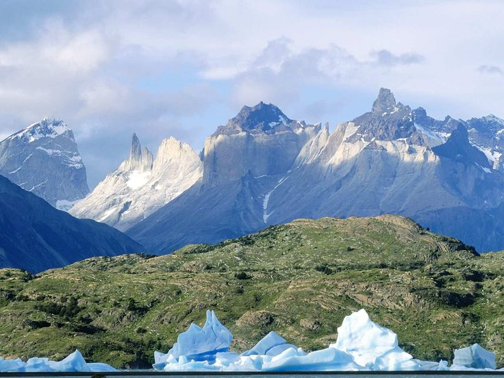 Andes Mountains In Chile South America