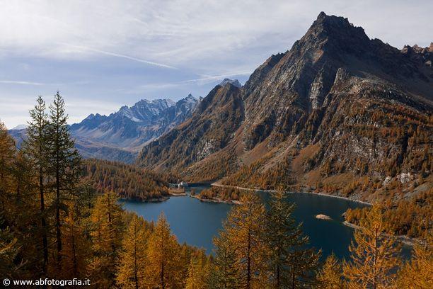 Vista del Lago Devero verso Codelago, Alpe Devero - Italia