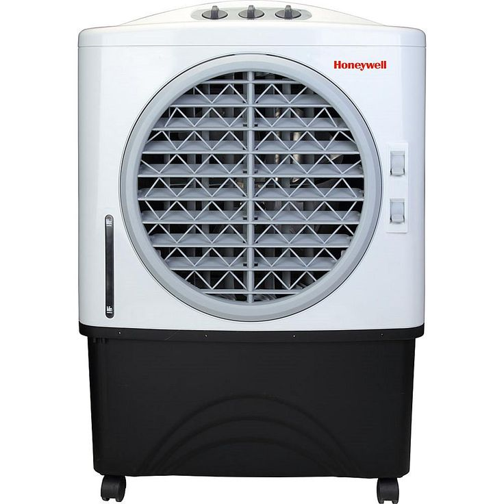 Honeywell Commercial Indoor/Outdoor Portable Evaporative Air Cooler - White/Black
