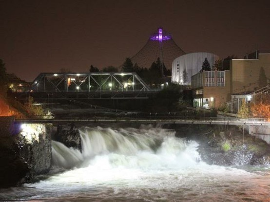 Spokane Falls, Spokane, Washington.  One of my favorite places on earth.