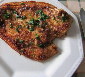 A delicious fish recipe using plaice