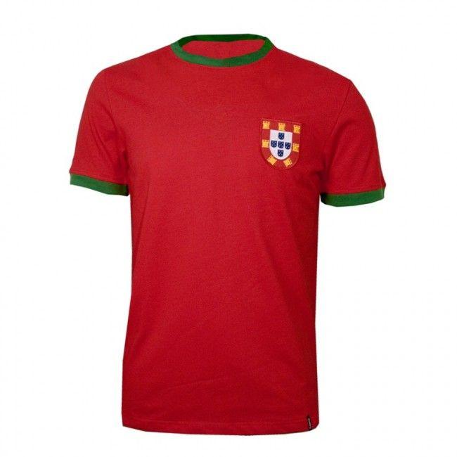 Portugal voetbalshirt jaren '60 retro voetbal truitje football soccer vintage sport COPA