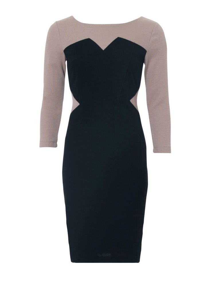Carry yourself in a sophisticated state with 'The Bronwyn Paneled Fitted Dress' http://shop.howardshowers.com.au/bronwyn-textured-ponte-fitted-dress/ #HowardShowers #fashion